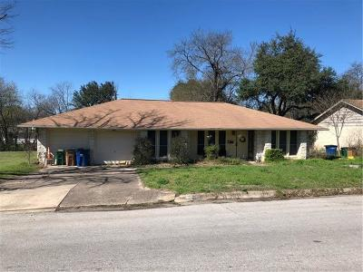 Austin Single Family Home For Sale: 5406 E Tipton Dr E