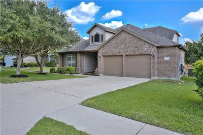 Round Rock Single Family Home For Sale: 2025 Paradise Ridge Dr