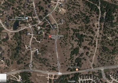 Austin Residential Lots & Land For Sale: 8608 Springdale Ridge Dr