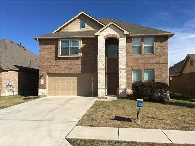 Leander Single Family Home For Sale: 2100 Granite Springs