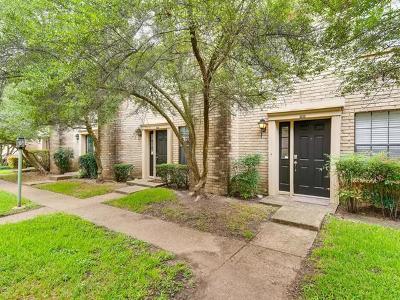 Austin Condo/Townhouse For Sale: 8400 Jamestown Dr #308
