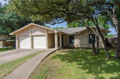 Round Rock Single Family Home For Sale: 1402 Abbey Rd