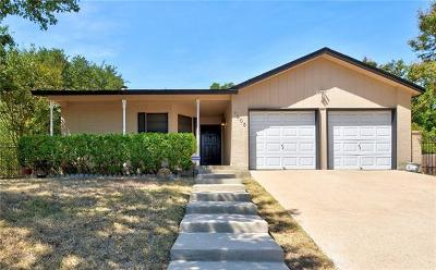 Travis County Single Family Home Pending - Taking Backups: 7503 Hill Meadow Cir