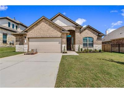 Cedar Park Single Family Home For Sale: 612 Acadia Bnd