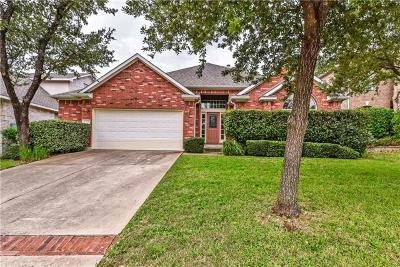 Round Rock Single Family Home For Sale: 3336 Ranch Park Trl