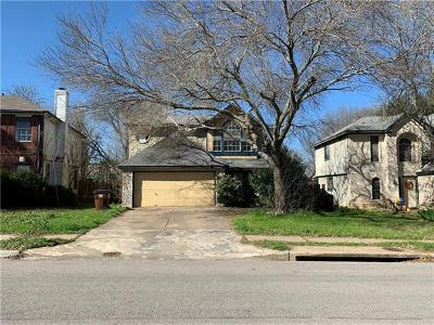 Round Rock Single Family Home Pending - Taking Backups: 1416 Green Terrace Dr