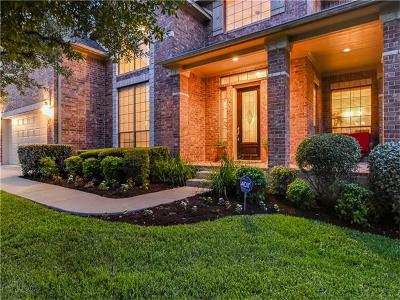 Cedar Park Single Family Home For Sale: 2809 Costello Ct
