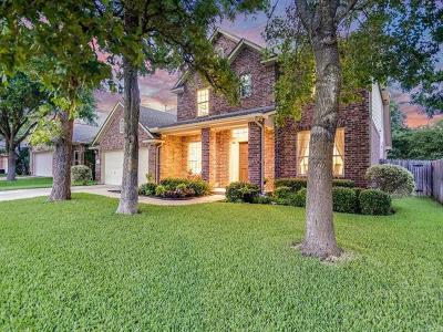 Cedar Park Single Family Home For Sale: 1709 Buttercup Creek Blvd