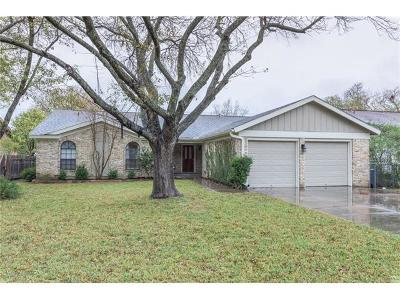 Austin Single Family Home For Sale: 1503 Cricket Hollow Dr