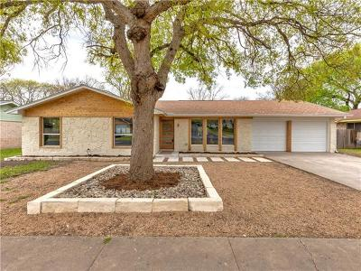 Single Family Home For Sale: 1409 Mearns Meadow Blvd