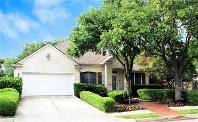 Cedar Park Single Family Home Active Contingent: 1407 Deer Horn Dr