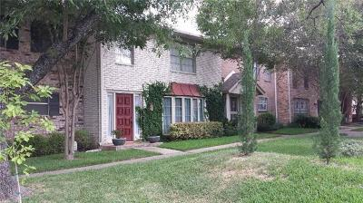 Travis County, Williamson County Condo/Townhouse For Sale: 7245 Creekside Dr