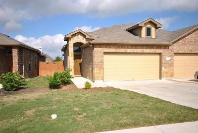 Hutto Rental For Rent: 1500 Muirfield Bend Dr #A