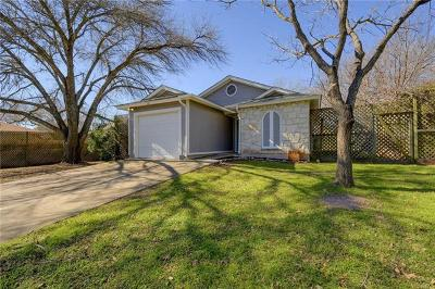 Travis County Single Family Home Pending - Taking Backups: 9718 Curlew Dr