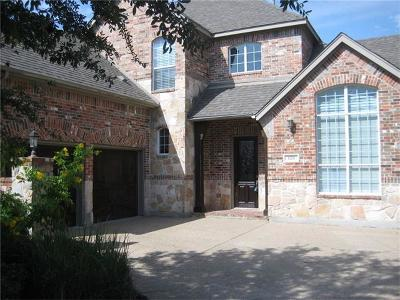 Round Rock Single Family Home For Sale: 1126 Hillridge Dr