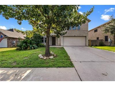Cedar Park Single Family Home For Sale: 2204 Milan Dr