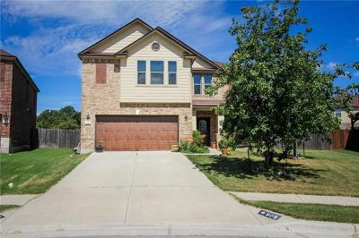 Leander Single Family Home For Sale: 909 Lily Pad
