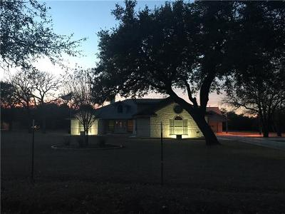 Burnet Single Family Home Pending - Taking Backups: 1690 County Road 116b