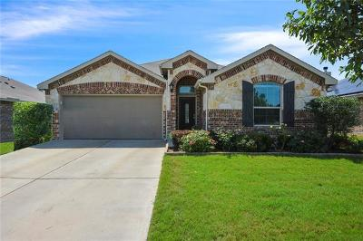 Hutto TX Single Family Home Pending - Taking Backups: $235,000