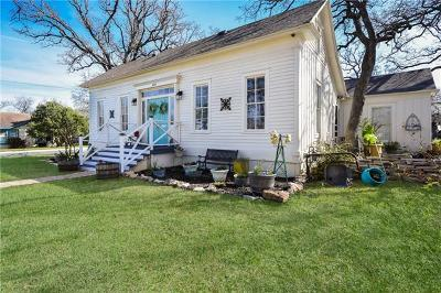 Burnet County Single Family Home For Sale: 409 N Main St