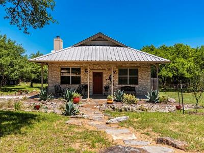 Dripping Springs Single Family Home For Sale: 741 Madrone Ranch Trl