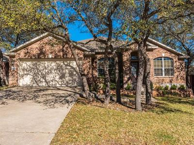 Leander Single Family Home Pending - Taking Backups: 2414 Branding Iron