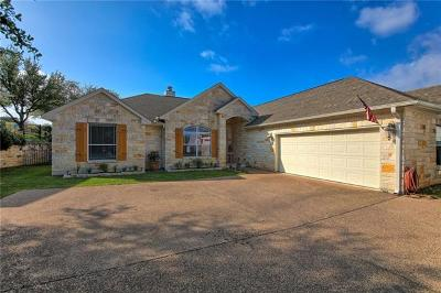 Lago Vista Single Family Home For Sale: 20919 Nimitz Ave