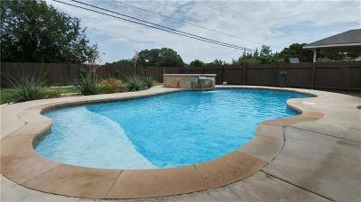 Round Rock Single Family Home For Sale: 420 Valona Loop