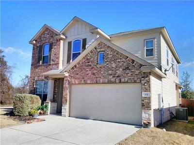 Leander Single Family Home For Sale: 308 Chickadee Ln