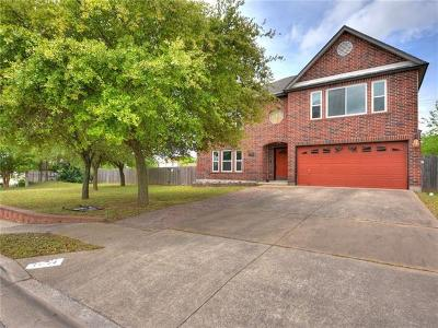 Pflugerville Single Family Home For Sale: 17704 Regis Dr