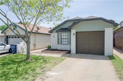 Leander Single Family Home For Sale: 842 Topaz Ln