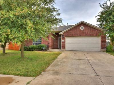 Round Rock Single Family Home For Sale: 4506 Heritage Well Ln