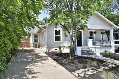 Austin Single Family Home For Sale: 814 Theresa Ave