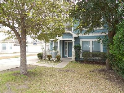 Round Rock Single Family Home For Sale: 2315 Bluffstone Dr