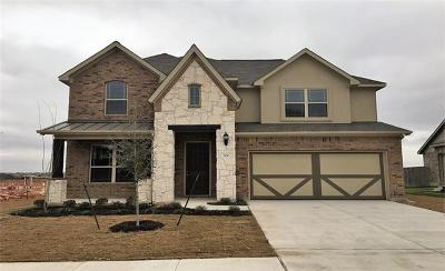 Leander Single Family Home For Sale: 729 Heritage Grove Rd
