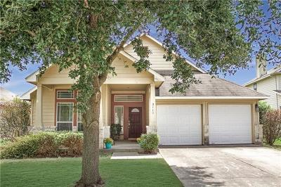 Hutto Single Family Home For Sale: 211 Holmstrom St