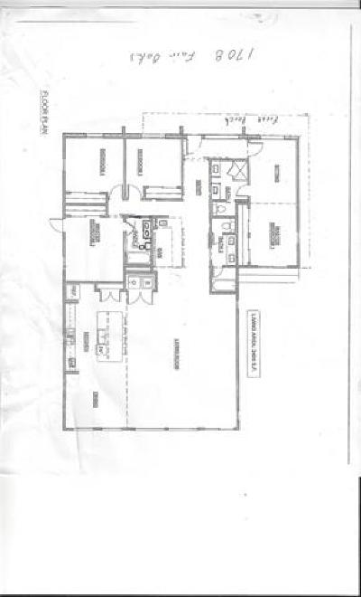 Single Family Home For Sale: 1708 Fair Oaks Dr