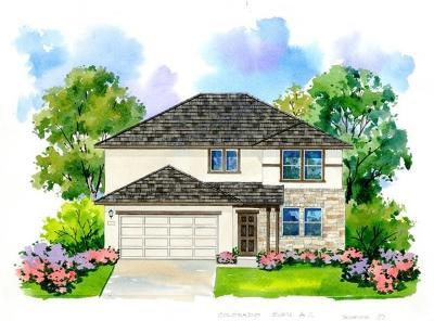 Round Rock Single Family Home For Sale: 6045 Malta Cir