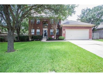 Cedar Park Single Family Home For Sale: 1300 Cedar Crest Dr