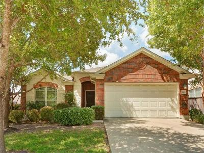 Round Rock Single Family Home For Sale: 4206 Flat Stone Ct