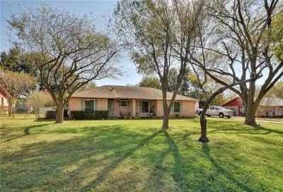 Travis County Single Family Home For Sale: 513 Sendero Verde St
