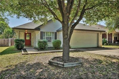 Leander Single Family Home Pending - Taking Backups: 1510 Mason Creek Blvd