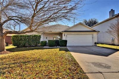 Round Rock Single Family Home For Sale: 2039 Bent Tree Loop
