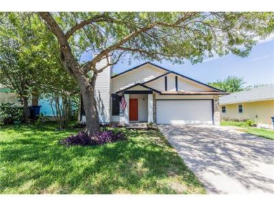 Travis County, Williamson County Single Family Home For Sale: 12826 Carrera Dr