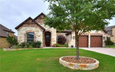 Cedar Park Single Family Home For Sale: 1706 Ambling Trl