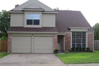 Pflugerville Single Family Home For Sale: 407 W Custers Creek Bnd