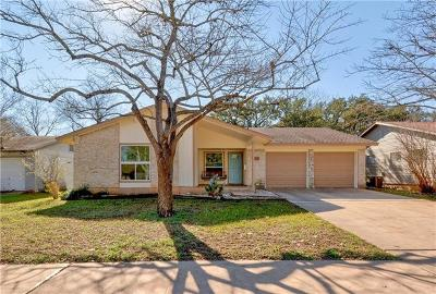 Hays County, Travis County, Williamson County Single Family Home Pending - Taking Backups: 2111 Whitestone Dr