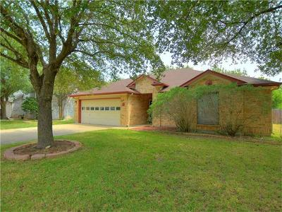 Round Rock Single Family Home For Sale: 1405 Pigeon View St