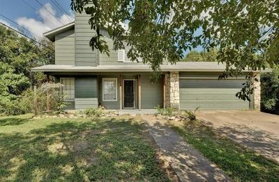 Austin Single Family Home For Sale: 8502 Caspian Dr