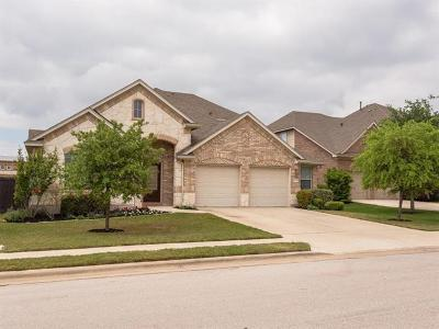 Leander Single Family Home For Sale: 2704 Sun Mountain Dr